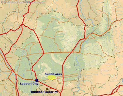 Lopburi Thailand Map.Lopburi Province Thailand For Visitors