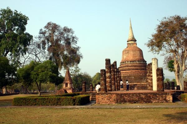 Wat Chana Songkhram, Sukhothai - Thailand For Visitors