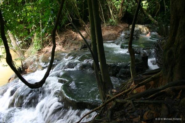 Hot Waterfall (Nam Tok Rawn) - Krabi Province - Thailand ...