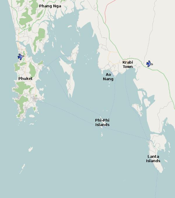 Krabi Province Thailand For Visitors